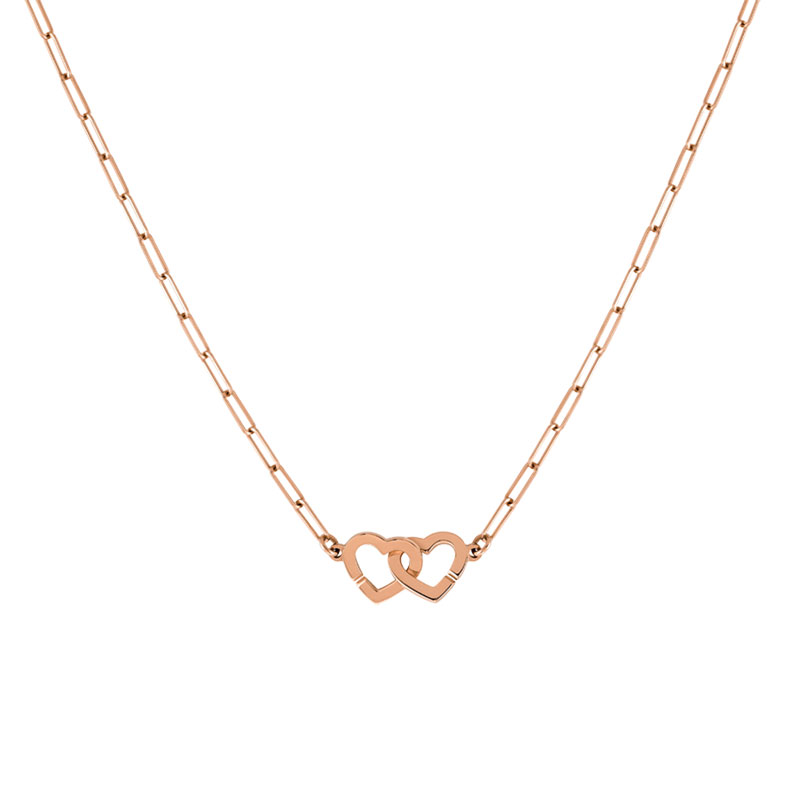 DINH VAN  Double Cœurs R9 necklace