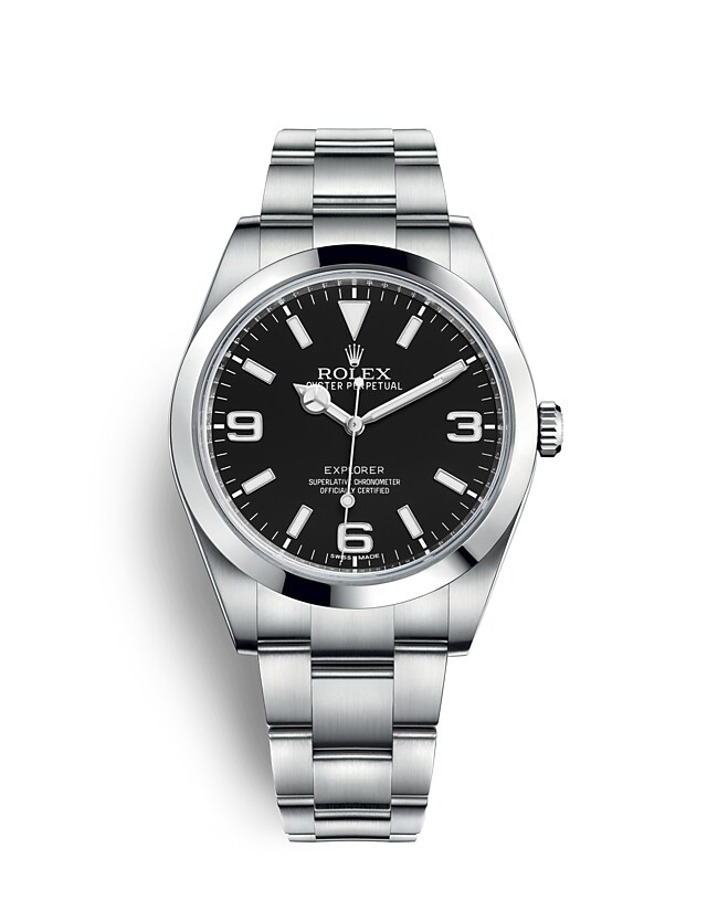Rolex Explorer at Goldfinger St. Martin