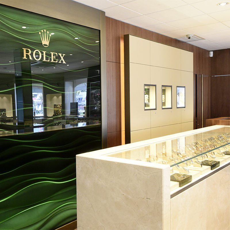 Rolex Store in St Barthélemy
