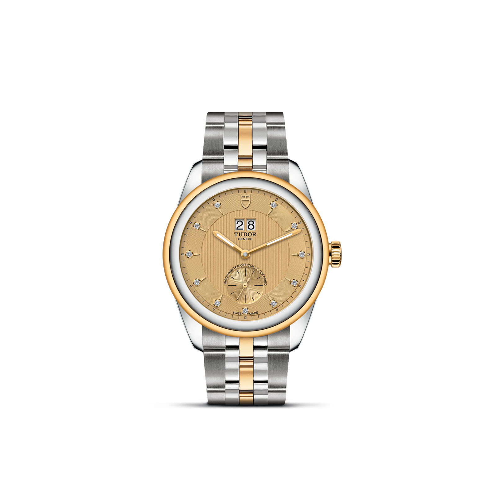 Goldfinger Jewelry TUDOR Glamour Double Date collection